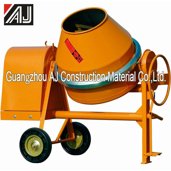 Hot Sale!!!Diesel Engine/Electric Motor/Gasoline Portable Manual Cement Mixer with260L,300L,350L,400L,500L Charging Capacity