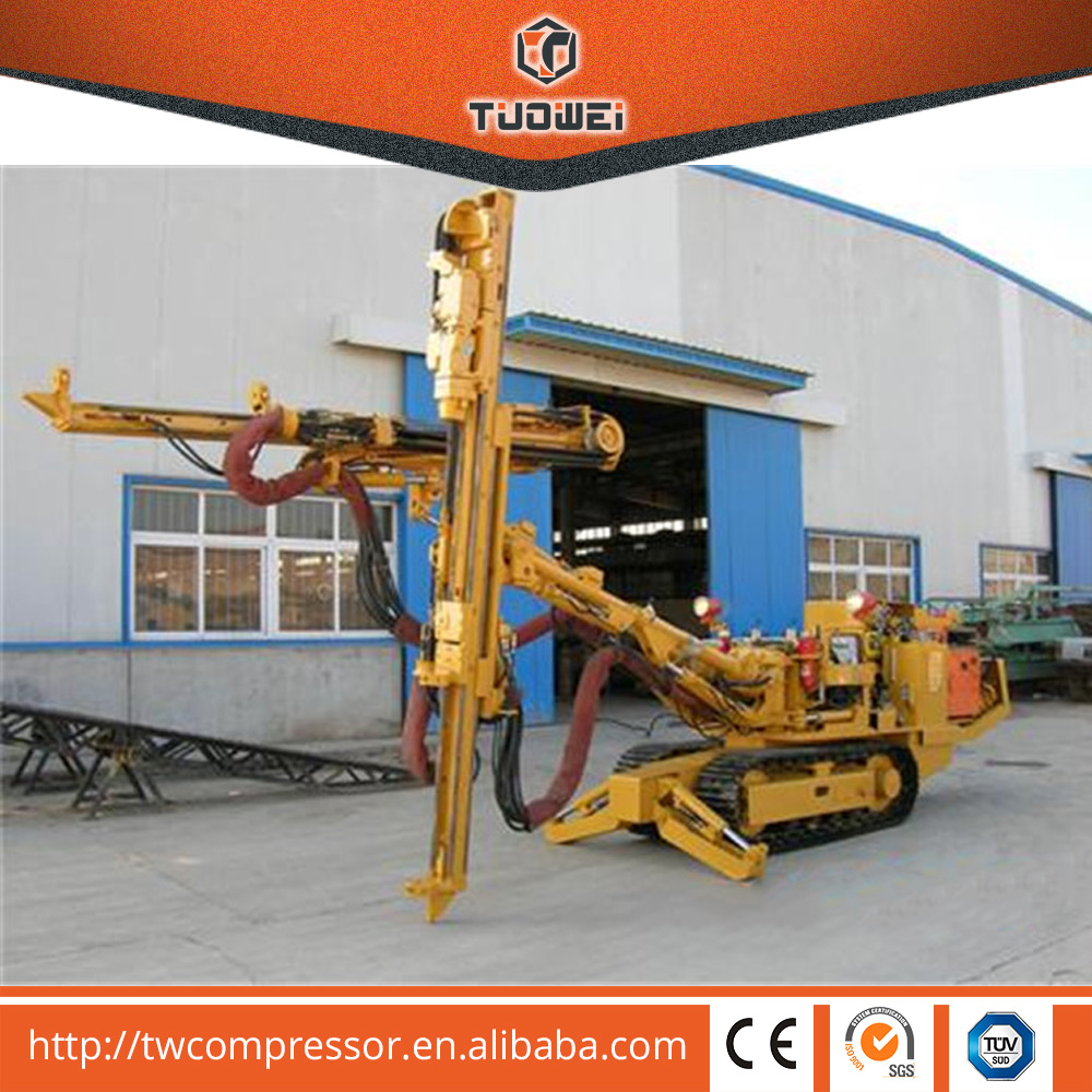Hot Sale TWJ2-30 Full Hydraulic Jumbo Surface Land Drill Rigs For Mining