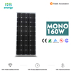 160w high efficiency mono solar panel