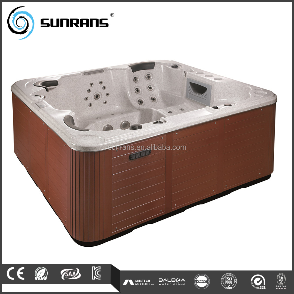 Hot Sale 5 Person PVC Skirt Freestanding Lowes Hot Tubs for Sale
