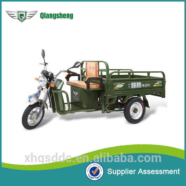 China Three Wheeler Electric Auto Rickshaw For Cargo Transport