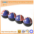 Plastic Car Valve Caps Cover with USA Flag in Top Quality