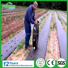 Free sample high quality agricultural plastic mulch cover garden black mulching film