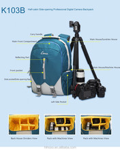 Hot Sale New Design Multi-functional Waterproof Lightweight Professional Shockproof Dslr Camera Backpack