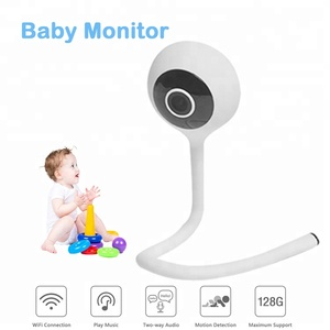 2018 smart wireless wifi baby monitor camera video ip camera phone remote viewing cry alarm humidity and temperature monitoring