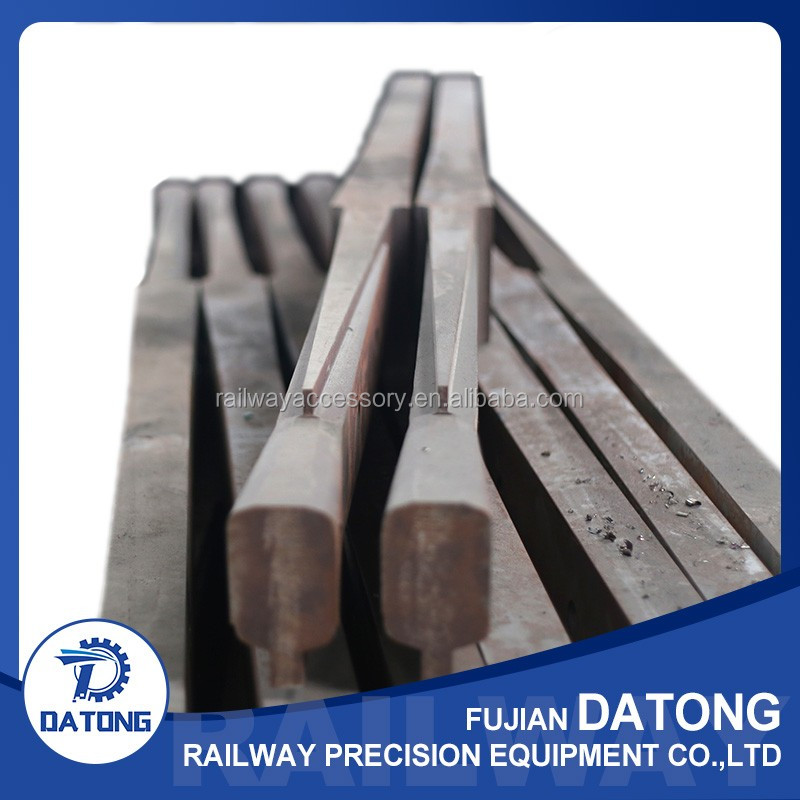 High standard high quality steel switch rail for railway tracks