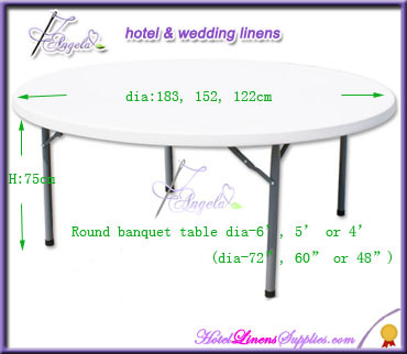 plain dyed stretch table covers, fitted stretch table covers for round banquet tables(top dia-5' or 6')
