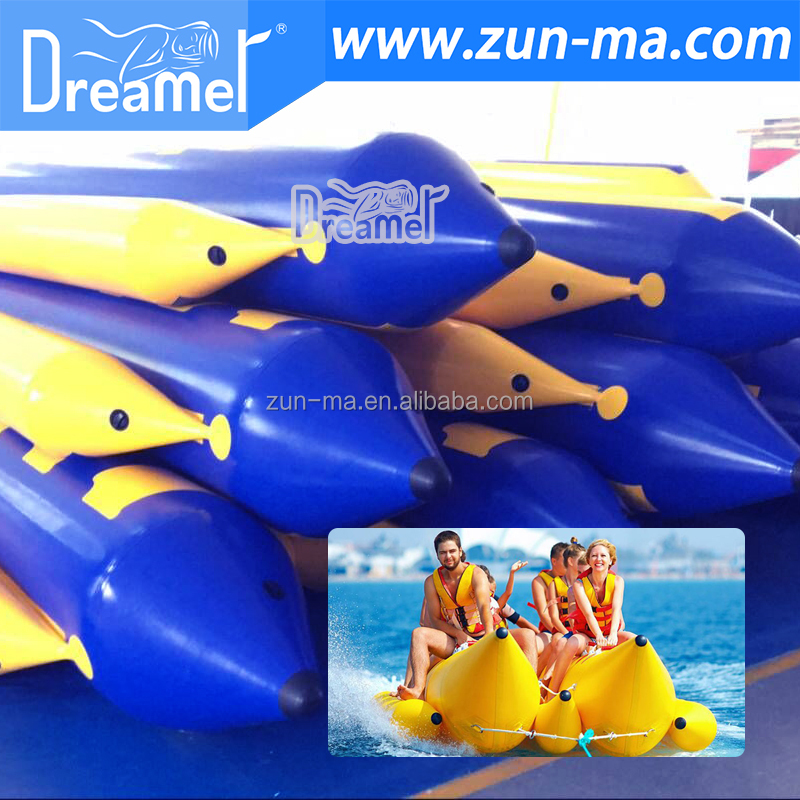 2017 Inflatable water sports banana boat for 5 persons