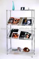 wire mesh and steel tube supermarket display rack&shelf