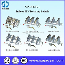 GN19-12 Series switch disconnector/3 pole isolator switch