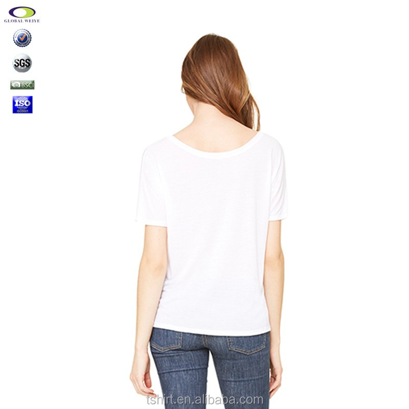 Wholesale Slouchy Off The Shoulder T Shirts To Custom Design