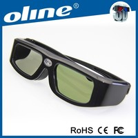 High-speed LCD shutter DLP-Link 3D glasses for Sony/BenQ/Optoma