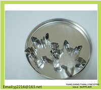 China supplier Stainless steel Cookie Tin box packing pastry cutter