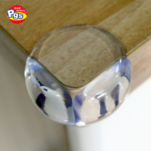 EN 71 approved Transparent corner protector for baby <strong>safety</strong> / Child proof Round Corner Guard Edge Protector