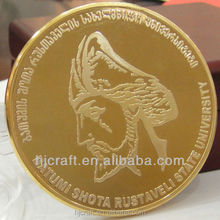 High Quality University Gold Commemorative Coin