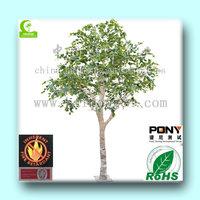 2015 wholesale High Quality Artificial1-5m birch Tree for landscaping/artificial birch tree decoration
