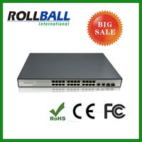 good quality 10/100M 24 port gigabit poe switch
