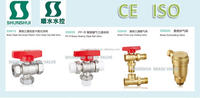 gate ball Brass quick exhausting valve air safety valve