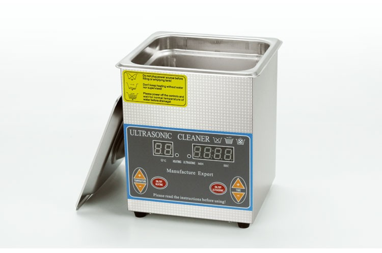 60W 2L Stainless steel ultrasonic cleaner for household live ware