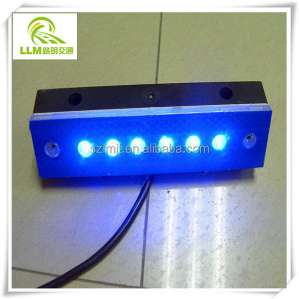 Direct manufacturer wired LED active-induced rectangular delineator for tunnel