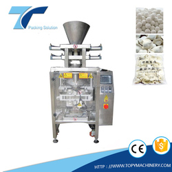 Frozen dumplings and Glutinous Rice Balls Food Packing equipment with VFFS packing machine