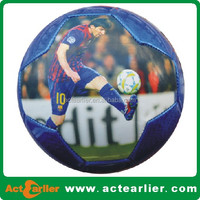 machine sewn messi size 5 football / soccer ball