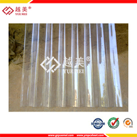 good price kerala clear polycarbonate corrugated plastic roof sheets
