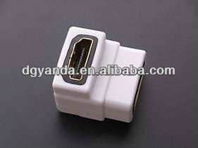 hdmi female to rca female right angle electronic connector