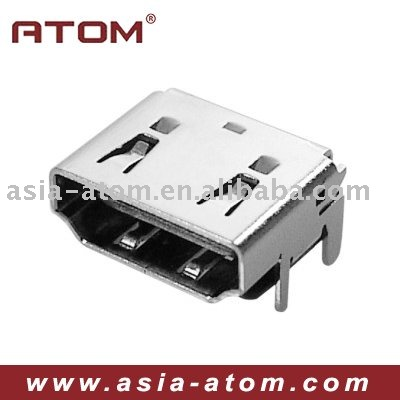 2015 China best seller 19Pin Female SMT HDMI connector