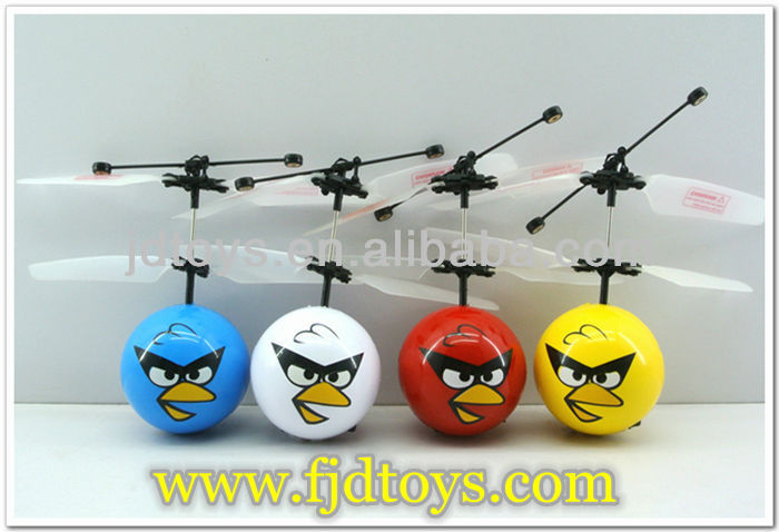 Children's love Remote Control Fly Birds Mini Flyer Toys