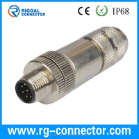 M12 automotive electrical connector types