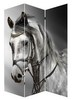 Horse animal folding decorative room divider screen