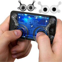 Powstro Mini phone Joystick Touch Screen Joystick For Phone Touch Screen Smartphone Mini Rocker for Arcade game King of glory
