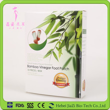 happy life Bamboo Vinegar Detox Healthcare relax foot patch