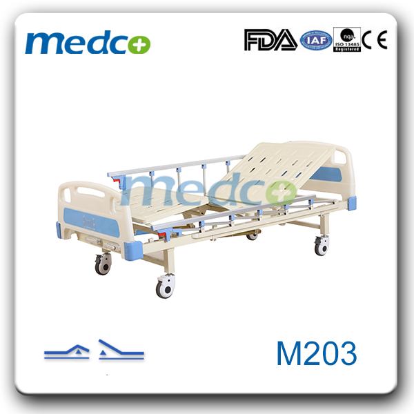Two Function Manual Hospital Bed M203