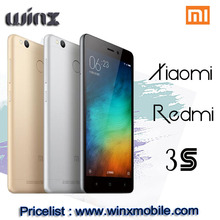 2016 hot sale Original Xiaomi Redmi 3S smartphones for alibaba china mobile phones android 6.0