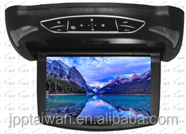 "13.3"" Roof-Mount Monitor with Built-In DVD Player ,three color covers to change the entire,MP5 support 1080P"
