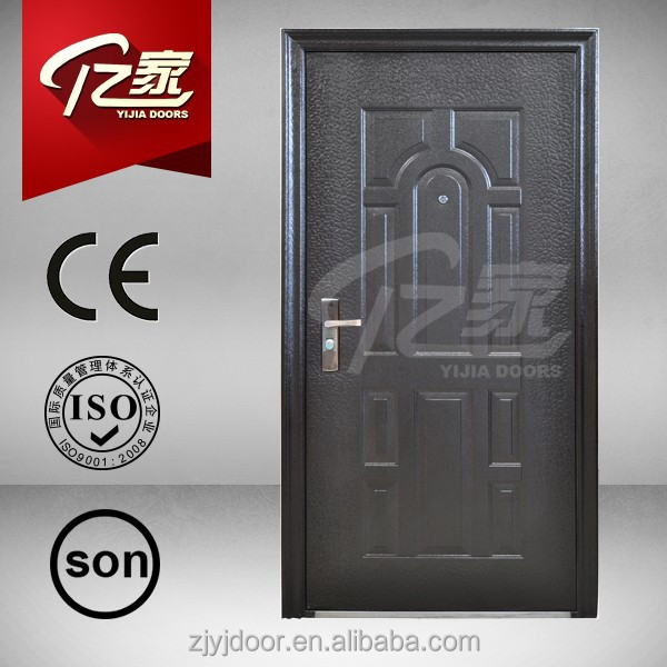 Cheap steel door with low price powder surface