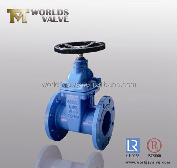 cast iron gate valve with rubber seat
