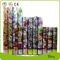 Attractive Design Spiderman Party Supplies,Party Popper With Money, Fake Money Party Cannon