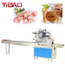 Automatic Biscuit Bread Cake Pillow Horizontal Flow Packing Machine