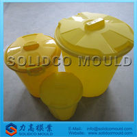 sizes plastic garbage can mould disposal supplier
