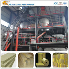 China Largest Manufacturer Rock Wool Mineral Wool Slag Wool Production Line (CE& ISO9001)