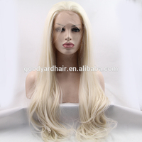 HOT!Top quality wholesale price human hair grey lace front wig