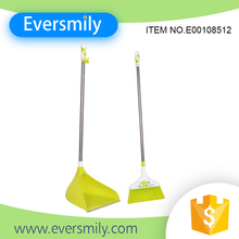Household floor cleaning set durable sweeper broom with dustpan