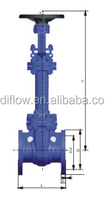 ANSI STANDARD BELLOW SEALED GATE VALVE