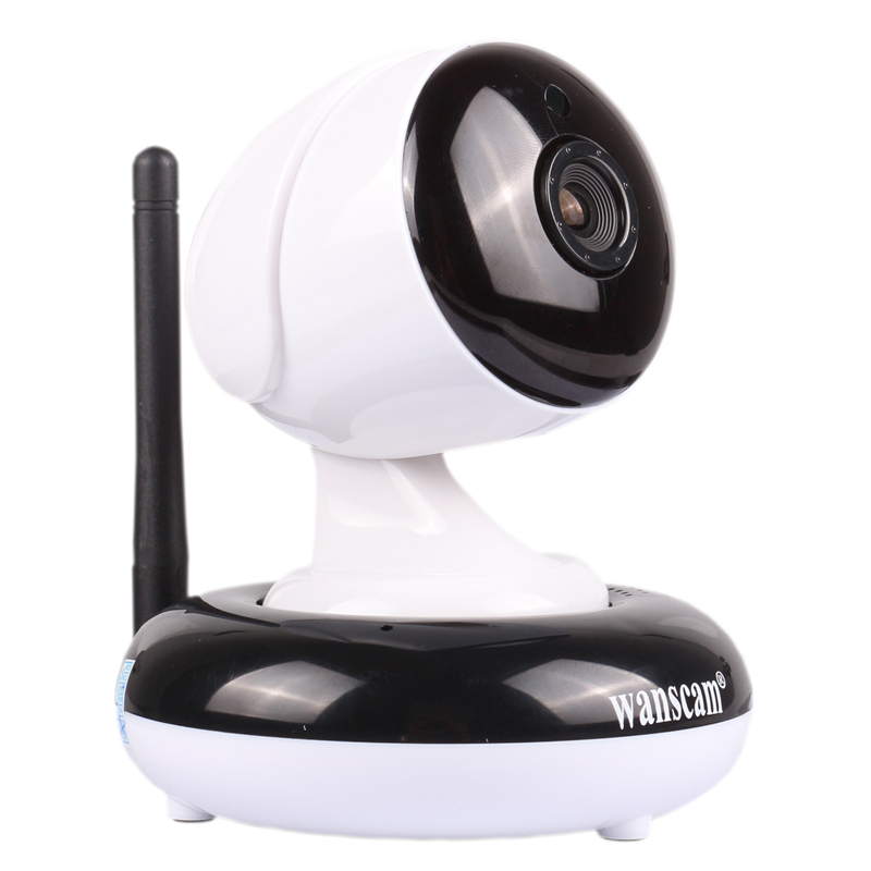 1MP 1280*720P Hi3518E H.264 Dual Stream Wireless IP Camera WANSCAM HW0049