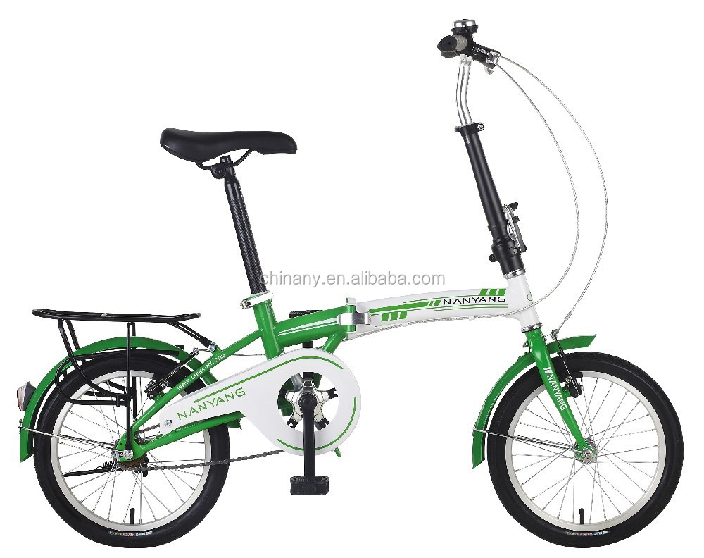 "GB2026Aluminum Fork Material and 16"" Wheel Size Bicycle All Kind Folding Mini Portable Bike"