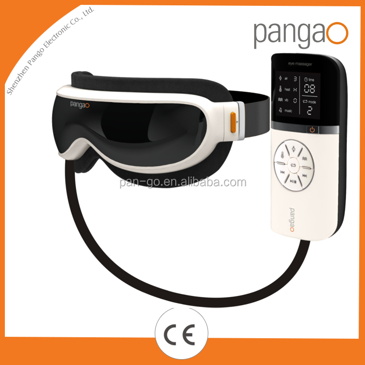 Pangao Hot sell intelligent eye massager with vibration, air pressure and heating