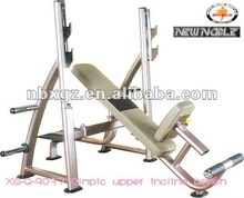 Bench press upper incline bench